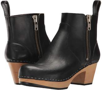 Swedish Hasbeens Zip It Emy Women's Zip Boots