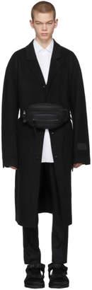 Alexander Wang Black Classic Black Splittable Wool Coat