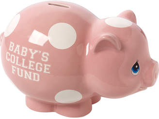 Precious Moments Baby's College Fund Piggy Bank, Girl