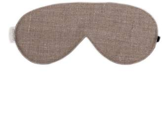 "elizabeth W Elizabethw Linen Sleep Eye Mask ""Natural"""