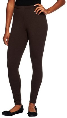 Women With Control Women with Control Petite Fit Pull-On Knit Leggings