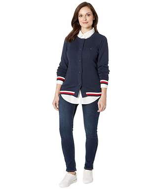 Tommy Hilfiger Adaptive Cardigan with Magnetic Buttons