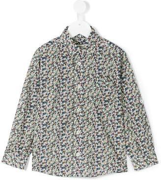 Cashmirino Number print shirt