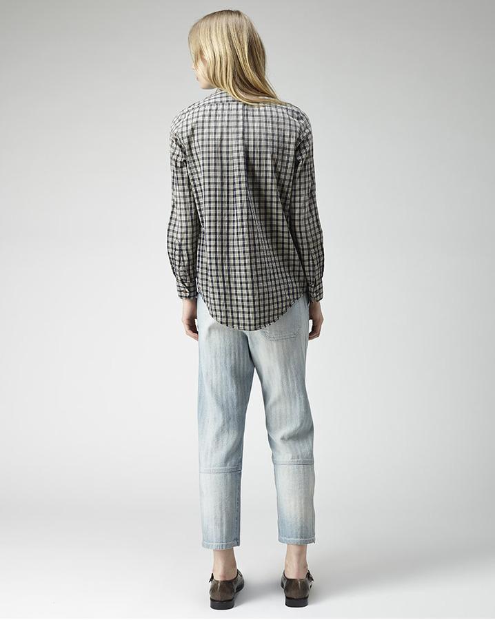 Rachel Comey picket plaid shirt