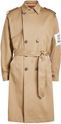 Oamc Captain Cotton Trench Coat