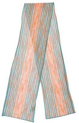 Missoni Knit Striped Scarf