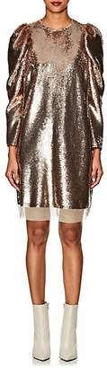 Ulla Johnson Women's Neptune Metallic Sequined Dress - Gold