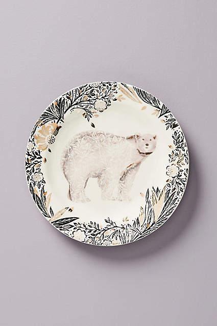 Josie Shenoy Arctic Dessert Plate