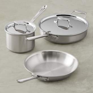 All-Clad d5 Brushed Stainless-Steel 5-Piece Set