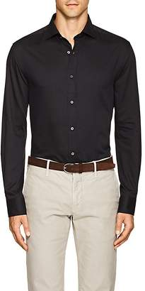 Ralph Lauren Purple Label MEN'S SLIM BOND COTTON-BLEND CREPE SHIRT