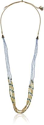 "lonna & lilly Women's Gold-Tone and 24"" Adjustable Multi Row Necklace"