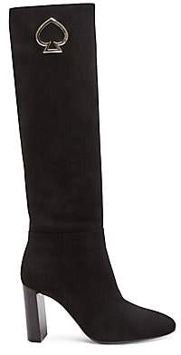 Kate Spade Women's Helana Knee-High Suede Boots
