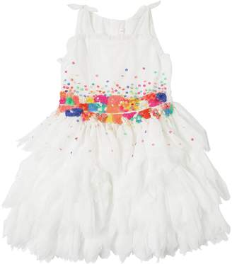 Billieblush Sequined Tulle Party Dress