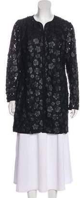 Karl Lagerfeld Lace Long Sleeve Jacket