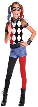 BuySeasons Dc Superhero Girls: Harley Quinn Deluxe Girls Costume