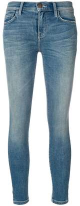 Current/Elliott slit side leg skinny jeans