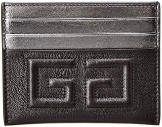Givenchy 2G Leather Card Holder