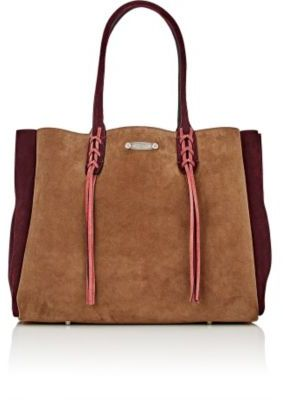 Lanvin Women's Tasseled-Handle Small Shopper Tote Bag $1,590 thestylecure.com