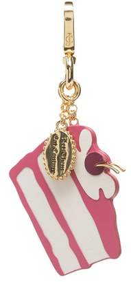 Juicy Couture Couture Cake Leather Key Fob