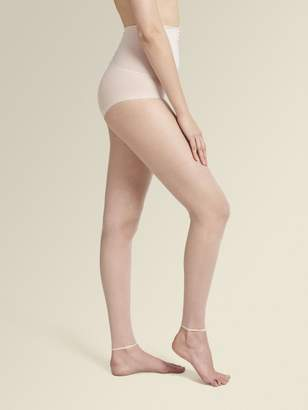 DKNY The Nudes Whisper Weight Toeless Control Top Pantyhose