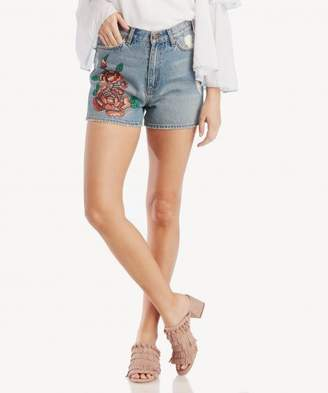 Sole Society Brunswick Embroidered Short