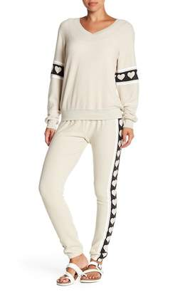 Wildfox Couture Hearts Desire Sweatpants