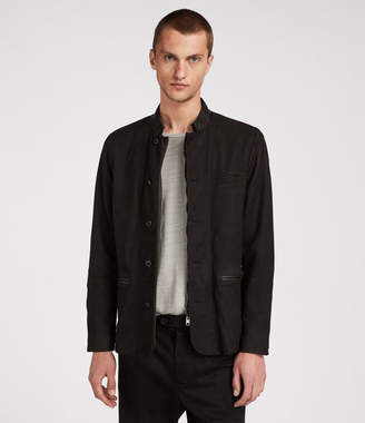 AllSaints Headen Leather Blazer