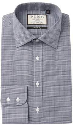 Thomas Pink Ward Check Super Slim Fit Dress Shirt