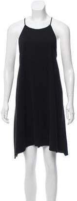 Halston Mini Shift Dress