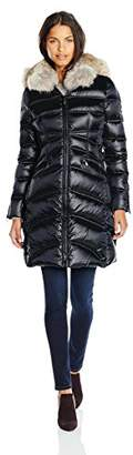 Dawn Levy Cloe II Down Coat with Corest Sides and Fur Hood $501.25 thestylecure.com