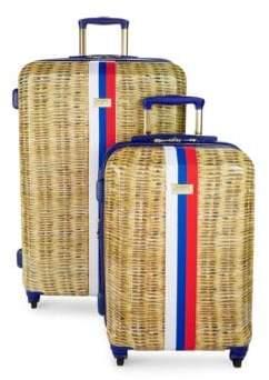Nautical Provence Two-Piece Luggage Set