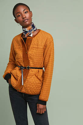 Anthropologie Camilla Quilted Jacket