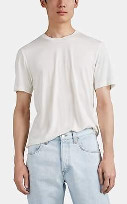 Helmut Lang Men's Silk Jersey T-Shirt - White