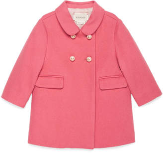 Baby wool double-breasted coat $690 thestylecure.com