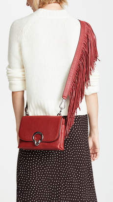 Rebecca Minkoff Isabel Small Crossbody Bag with Fringe