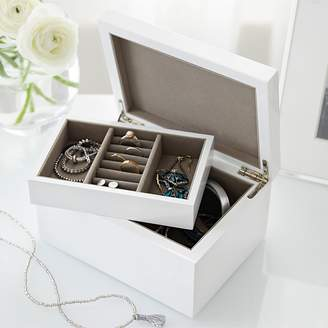 The White Company Medium Lacquer Jewelry Box