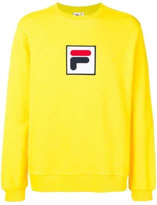 Fila logo patch sweatshirt