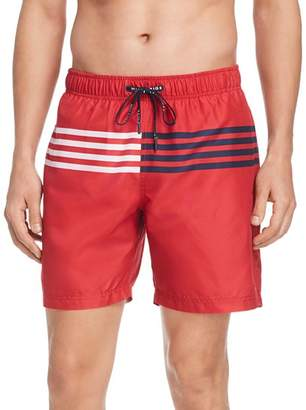 Tommy Hilfiger Striped Swim Trunks