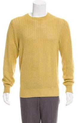 Loro Piana Cashmere & Silk Crew Neck Sweater