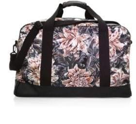 Y-3 Floral-Print Weekender Duffle Bag