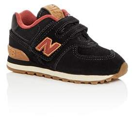 New Balance Boys' 574 Suede Low-Top Sneakers - Walker, Toddler