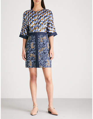 Mary Katrantzou Printed crepe mini dress