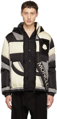 Craig Green Moncler Genius 5 Moncler Grey and Black Down Plunger Jacket
