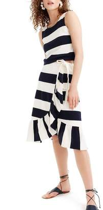 J.Crew J. Crew Rugby Knit Wrap Skirt (Regular & Petite)