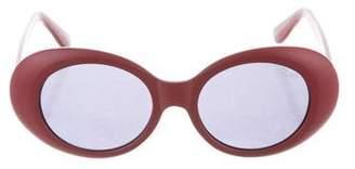 Quay Round Tinted Sunglasses