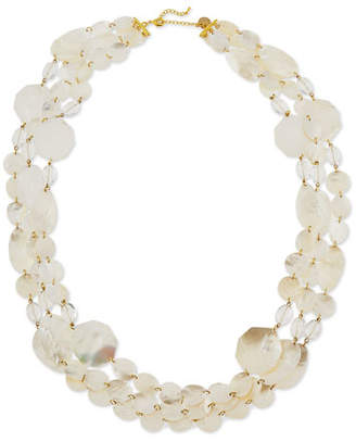 Viktoria Hayman Mother-of-Pearl Three-Strand Necklace