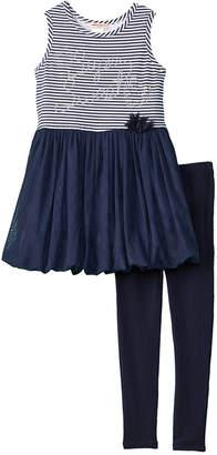 Nanette Lepore Girls' 2Pc Dress & Legging Set