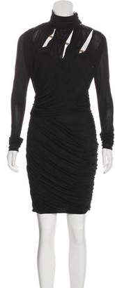 Emilio Pucci Chain-Link Cutout Dress