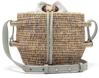KHOKHO Thembi drawstring-top basket bag