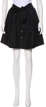 Blumarine Woven Knee-Length Skirt